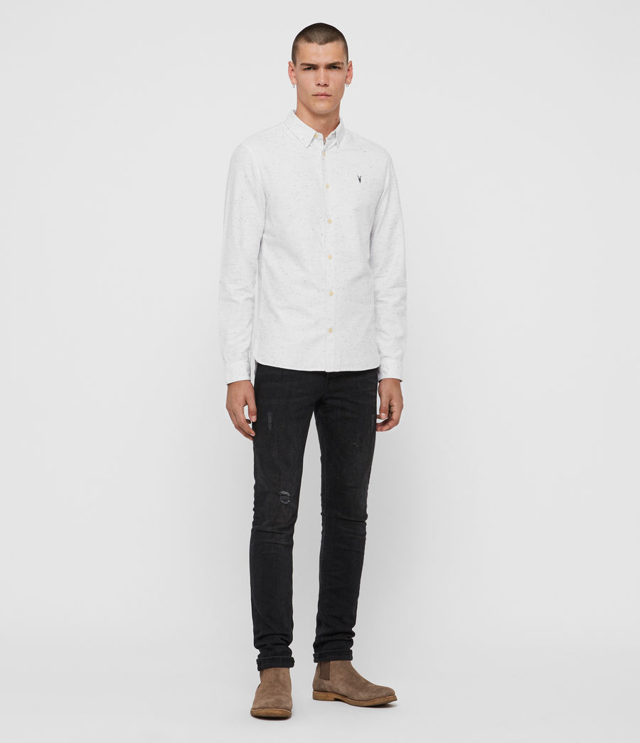 Men's Altmar Shirt (black_white) - Image 4