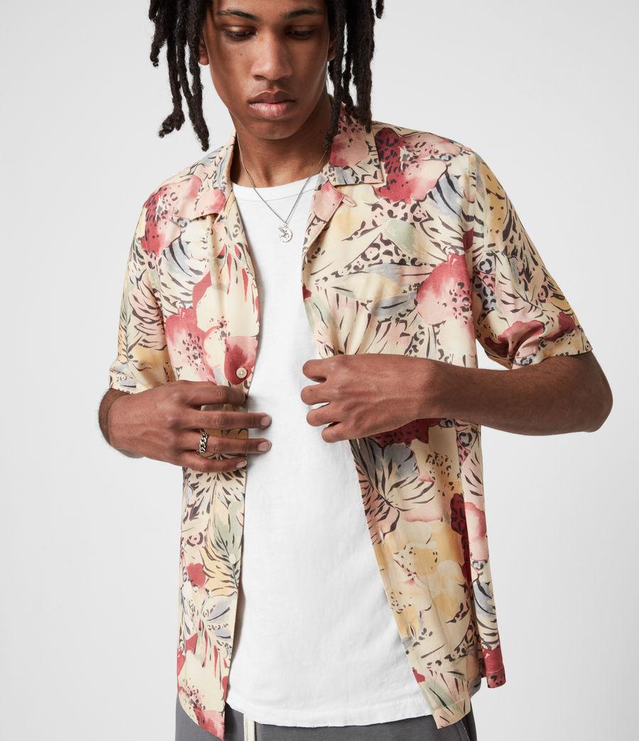 Men's Wailea Shirt (ecru) - Image 1