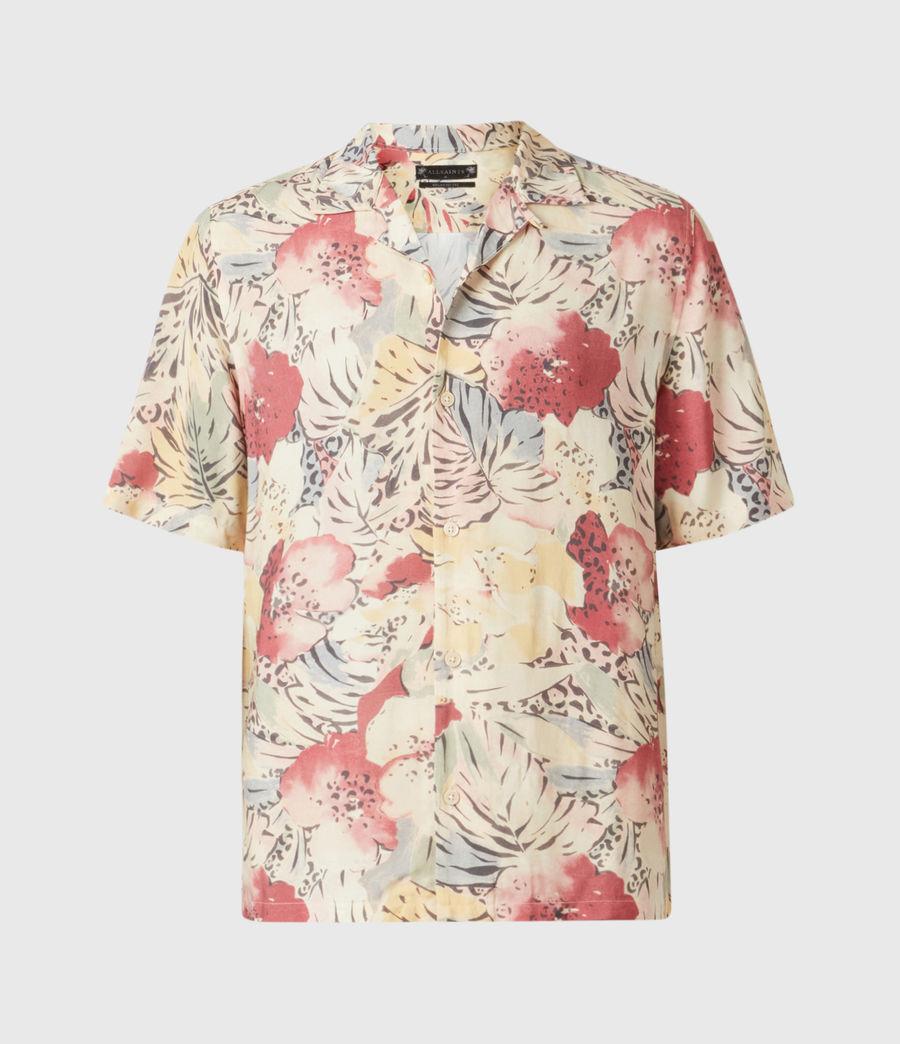 Men's Wailea Shirt (ecru) - Image 2