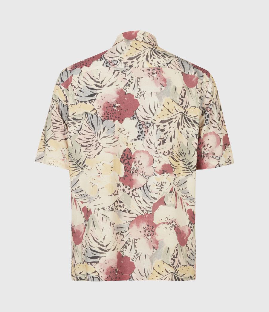 Men's Wailea Shirt (ecru) - Image 3