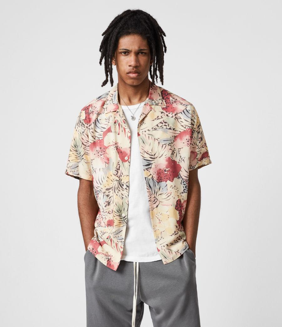 Men's Wailea Shirt (ecru) - Image 4