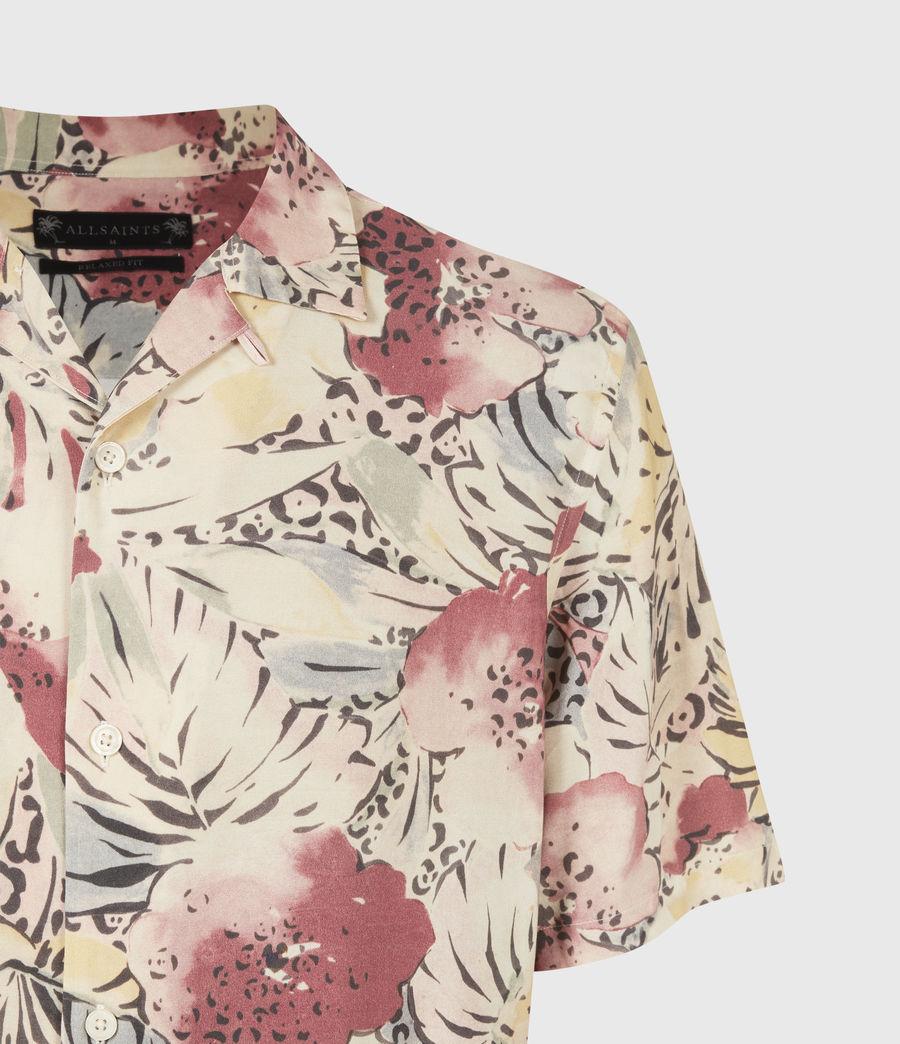 Men's Wailea Shirt (ecru) - Image 5