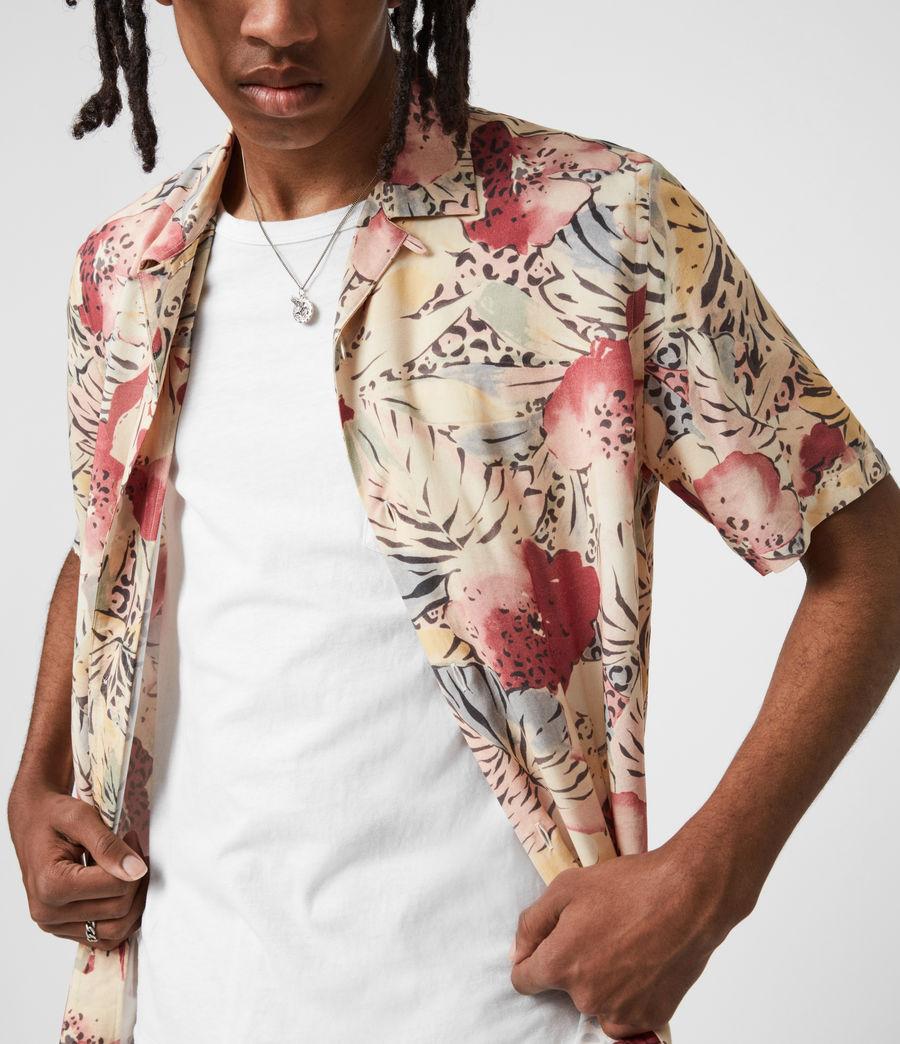Men's Wailea Shirt (ecru) - Image 6