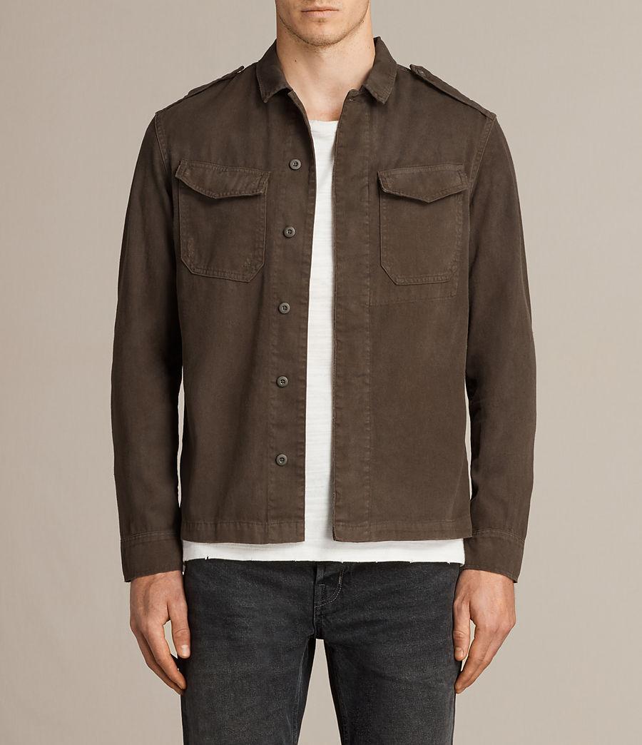 Mens Hauptmann Shirt (dark_khaki) - Image 1