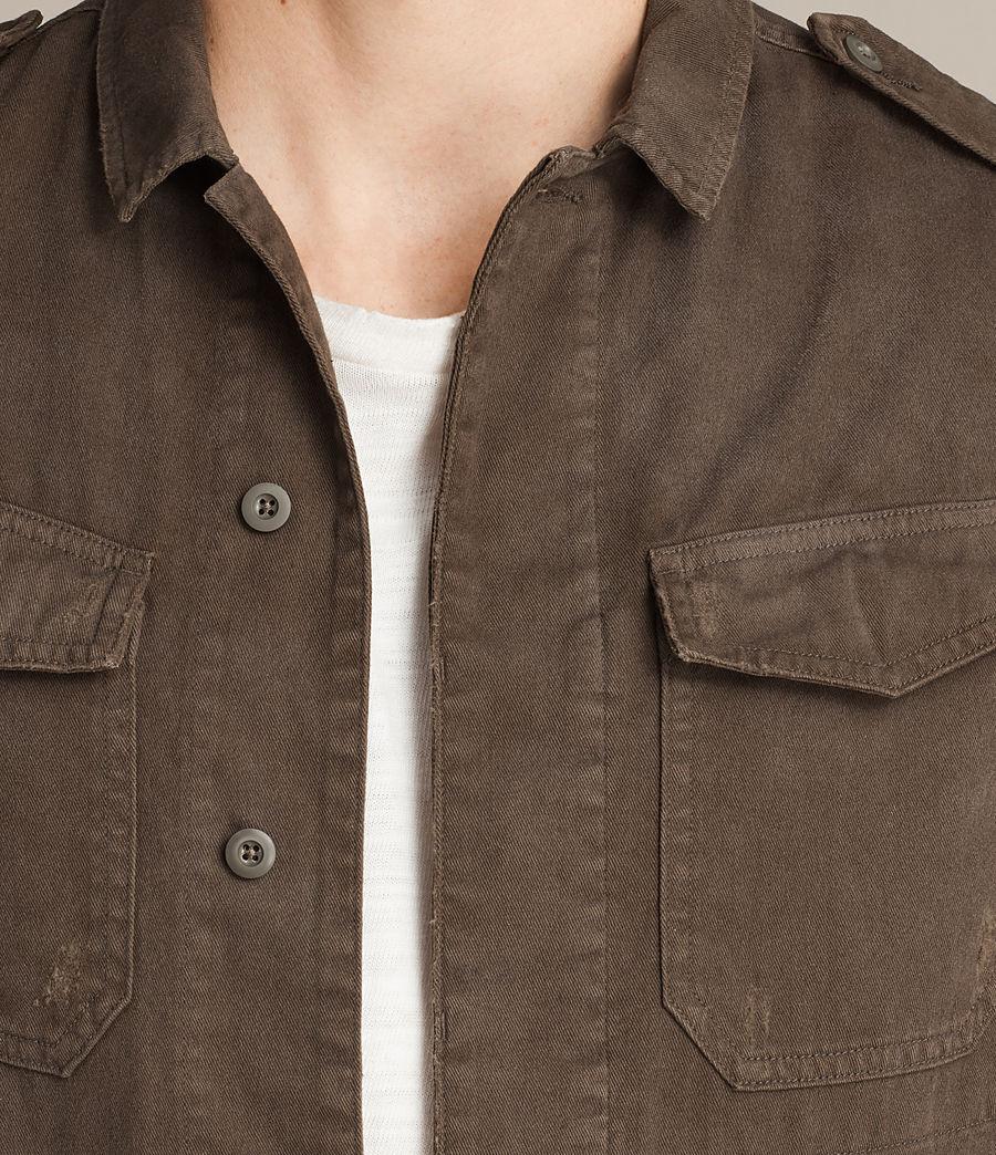 Mens Hauptmann Shirt (dark_khaki) - Image 2