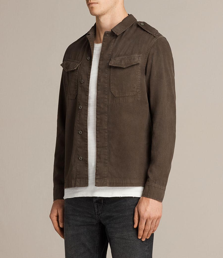 Mens Hauptmann Shirt (dark_khaki) - Image 3