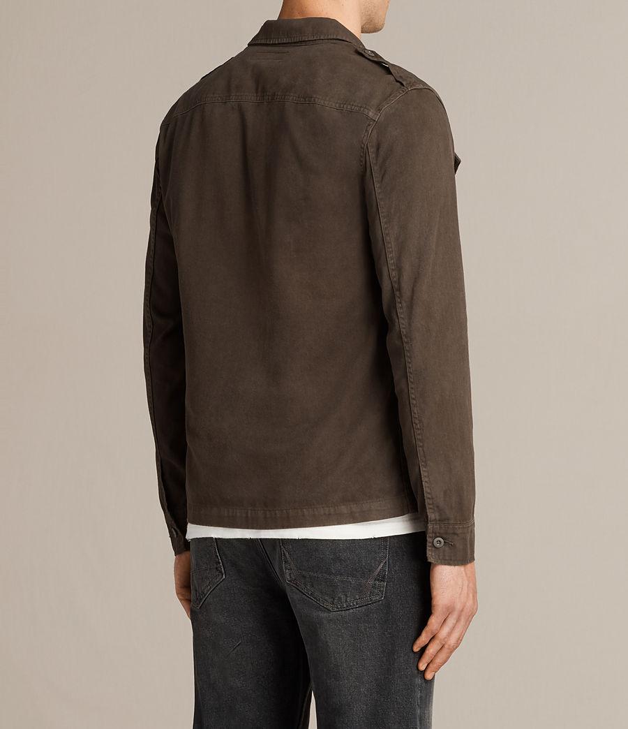 Mens Hauptmann Shirt (dark_khaki) - Image 4