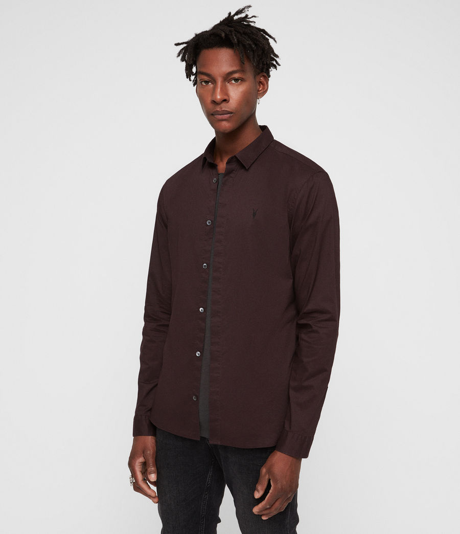 Mens Westhampton Shirt (oxblood_red) - Image 1