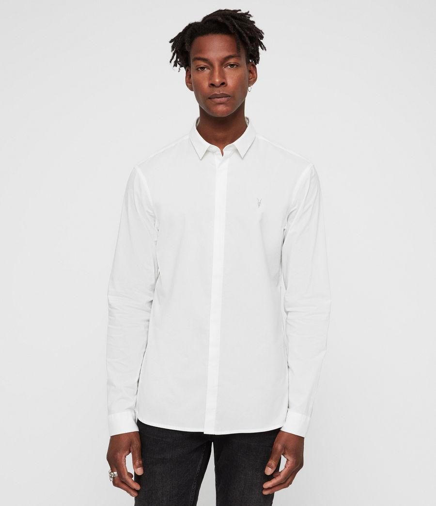 Hombre Camisa Westhampton (optic_white) - Image 1