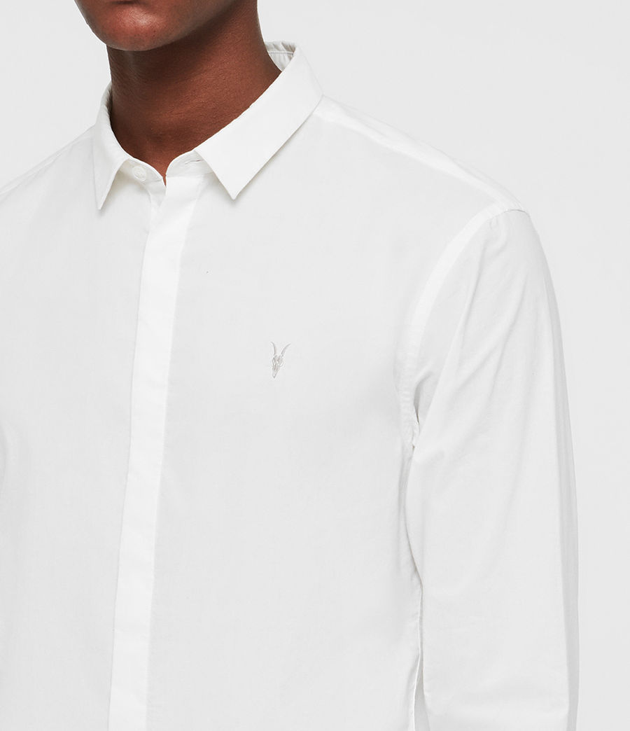 Hombre Camisa Westhampton (optic_white) - Image 2