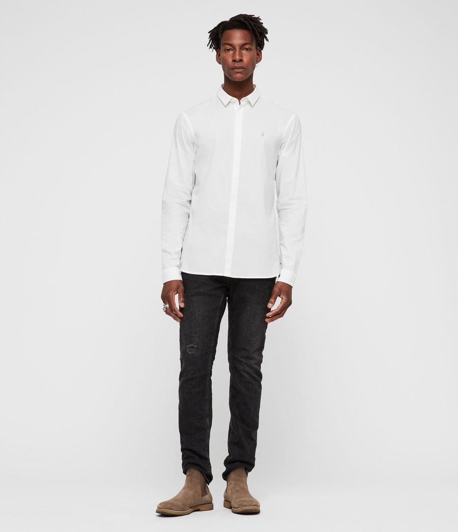 Hombre Camisa Westhampton (optic_white) - Image 3