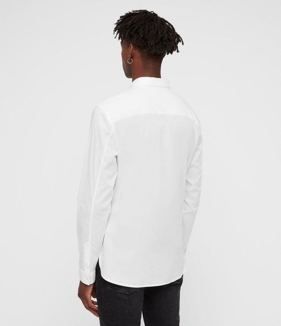 Hombre Camisa Westhampton (optic_white) - Image 5
