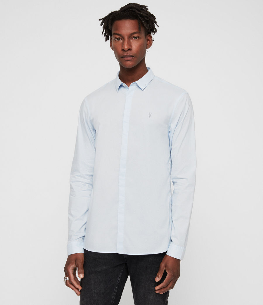 Mens Westhampton Shirt (light_blue) - Image 1