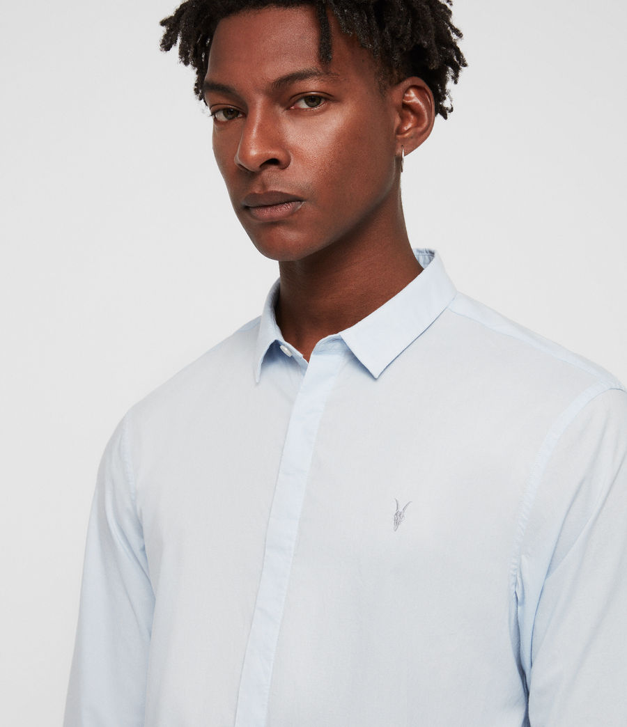 Mens Westhampton Shirt (light_blue) - Image 2