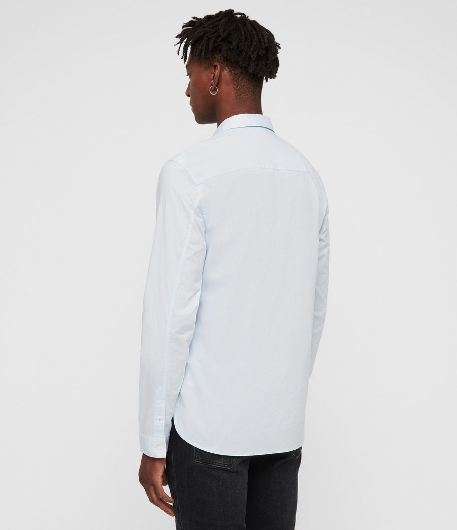 Mens Westhampton Shirt (light_blue) - Image 4