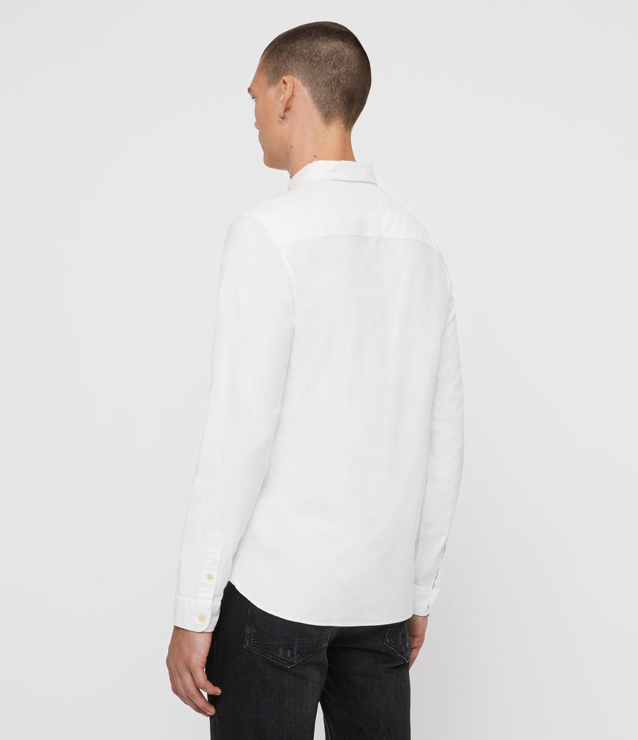 Men's Oakland Shirt (optic_white) - Image 5