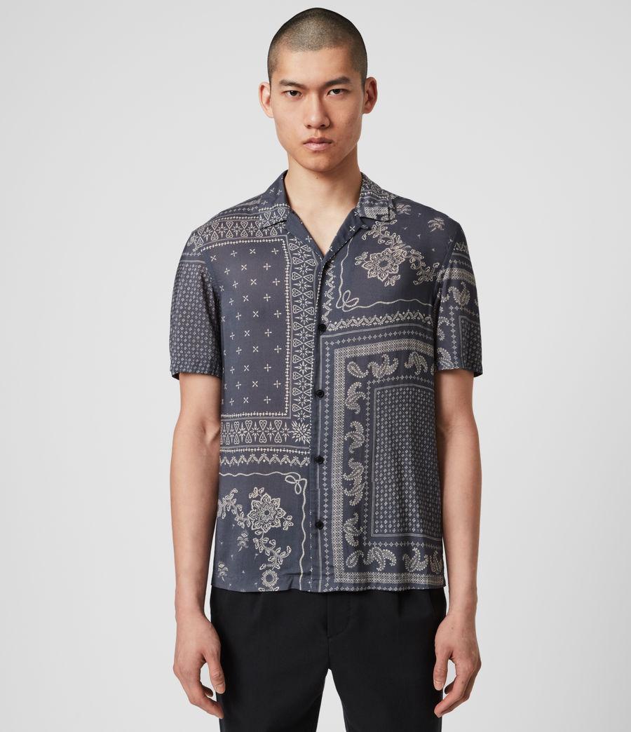 Hombre Cherito Short Sleeve Shirt (iron_grey) - Image 1
