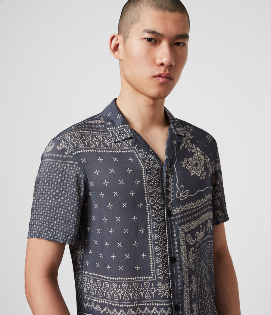 Mens Cherito Short Sleeve Shirt (iron_grey) - Image 1