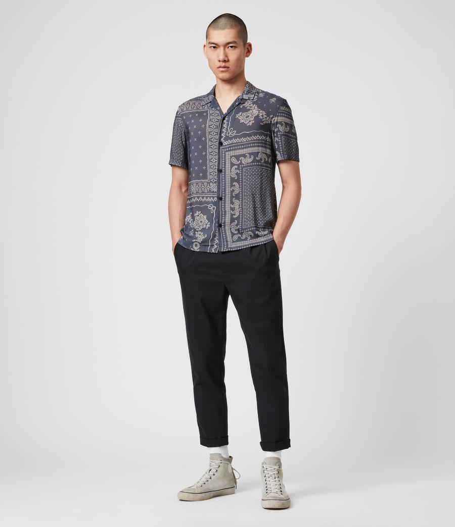 Hombre Cherito Short Sleeve Shirt (iron_grey) - Image 3