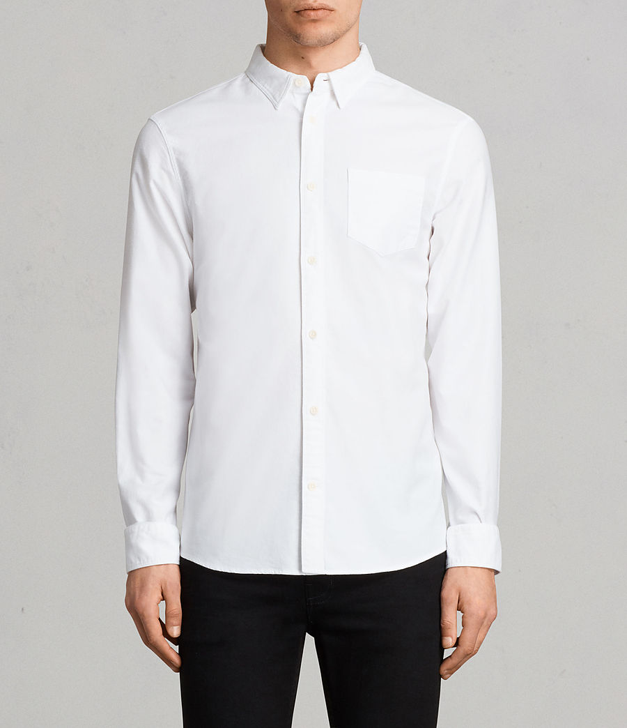Mens Stukeley Shirt (white) - Image 1