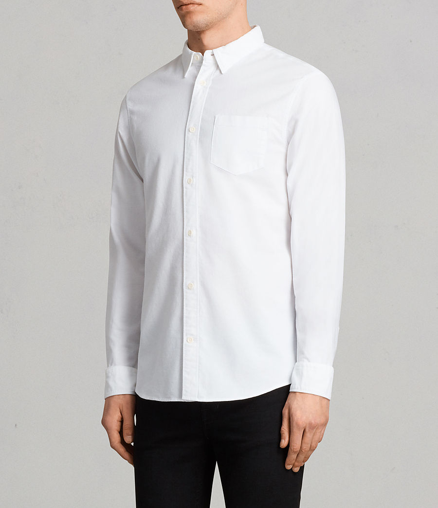 Mens Stukeley Shirt (white) - Image 2