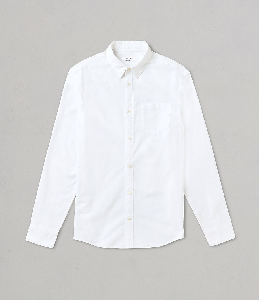 Mens Stukeley Shirt (white) - Image 4