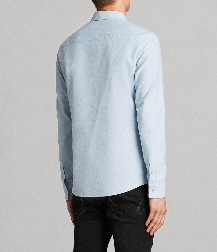 Mens Stukeley Shirt (Light Blue) - Image 4