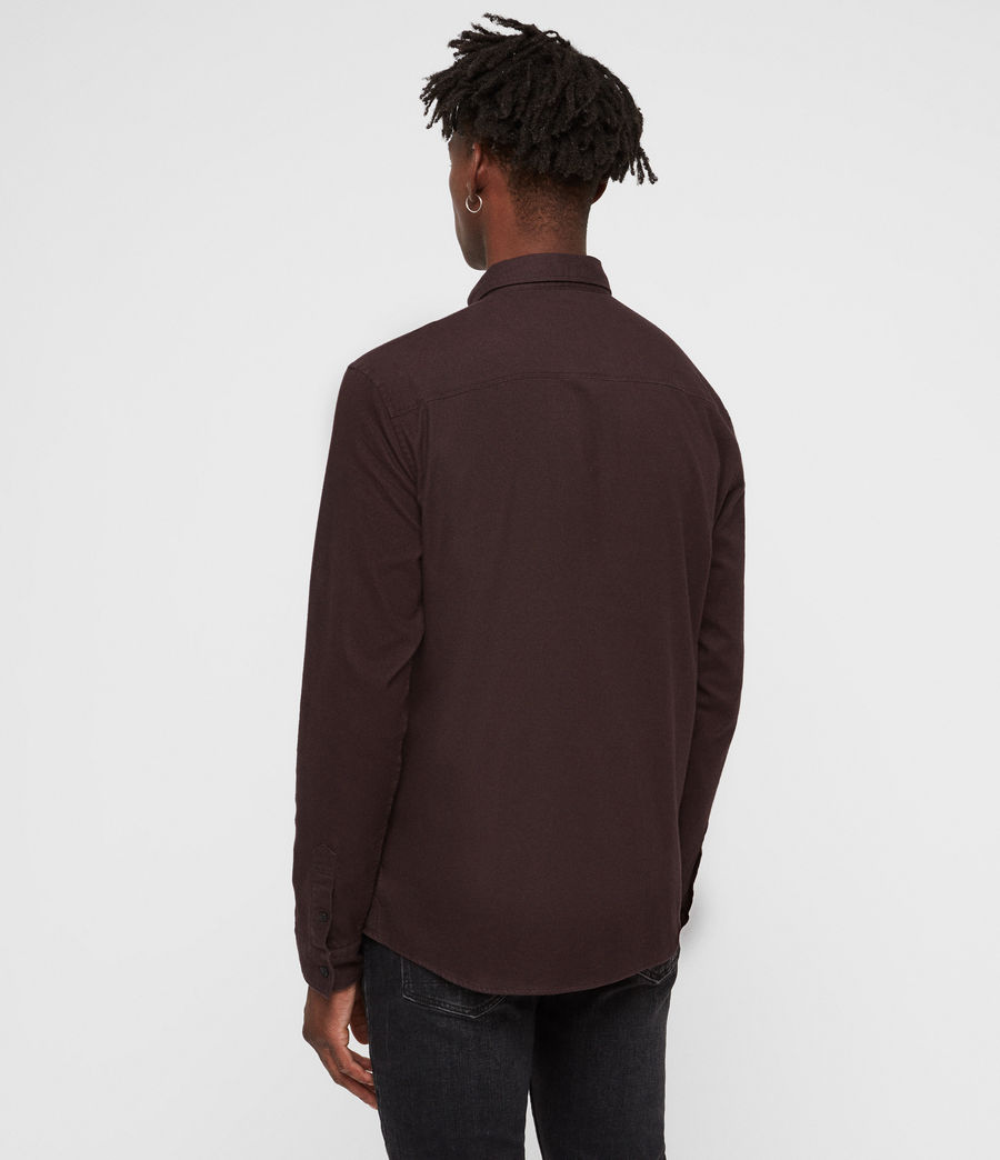 Men's Asbury Shirt (oxblood_red) - Image 5