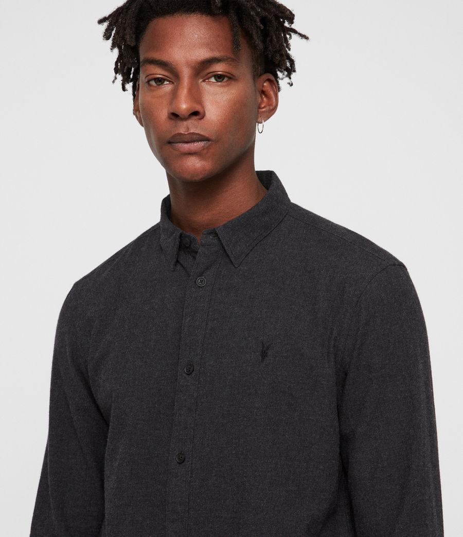 Hombre Camisa Asbury (charcoal_marl) - Image 2