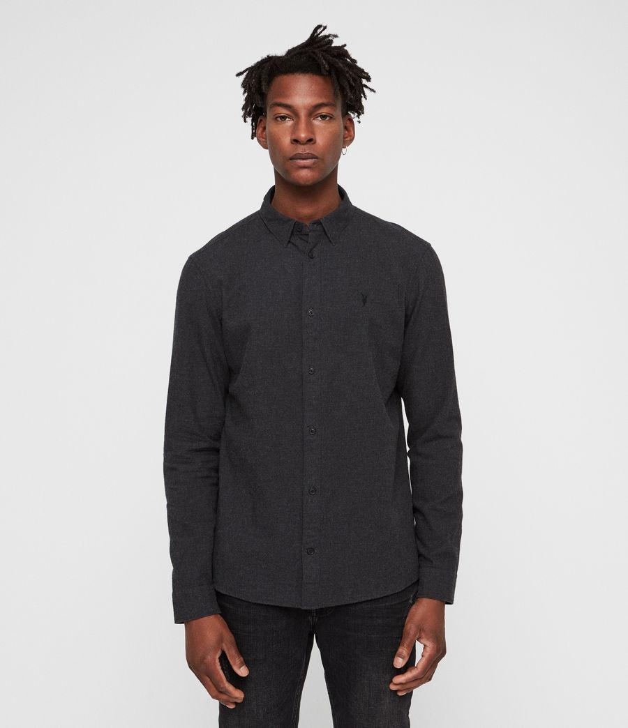 Hombre Camisa Asbury (charcoal_marl) - Image 4