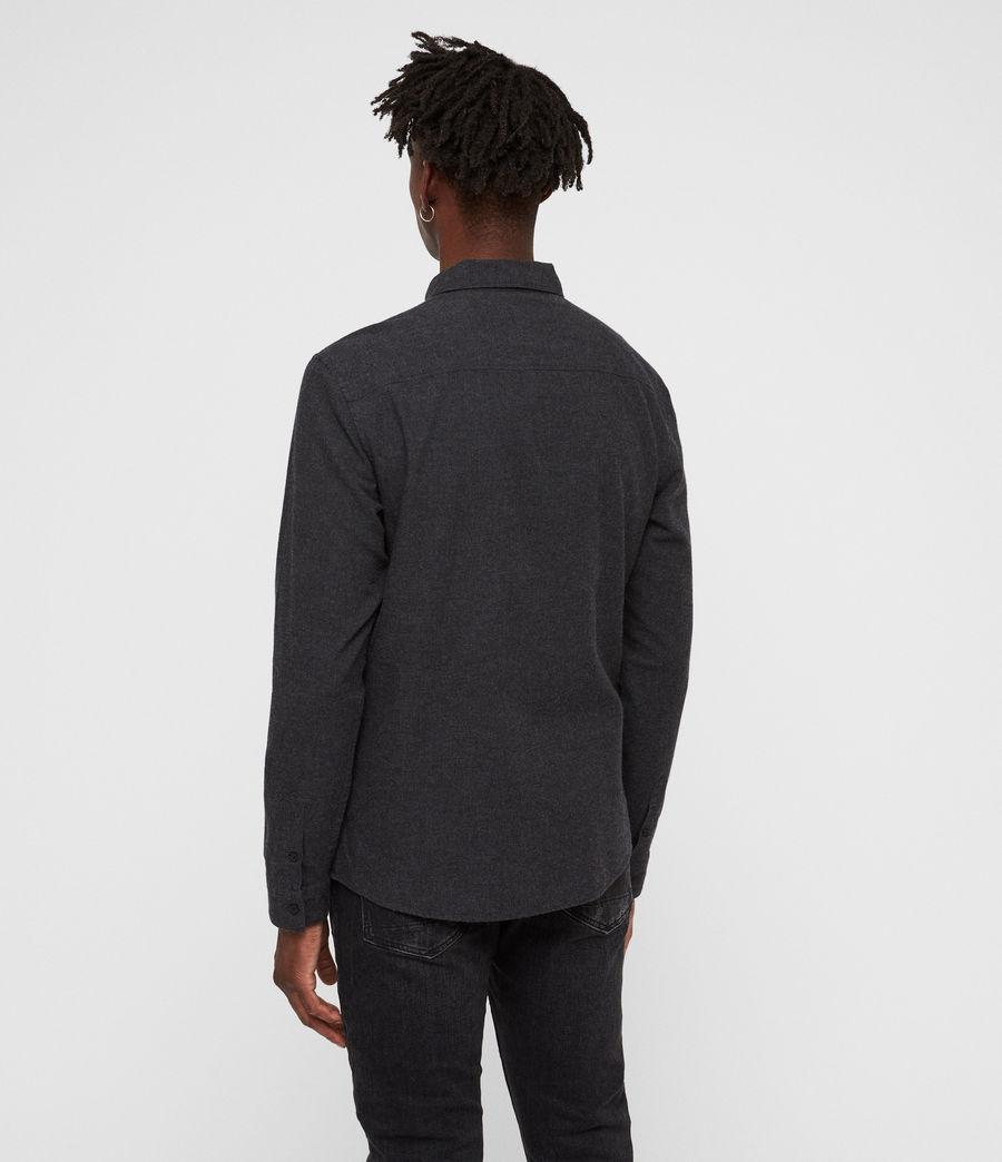 Hombre Camisa Asbury (charcoal_marl) - Image 5