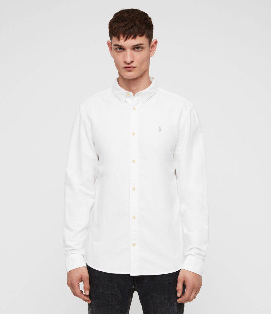 Mens Trenton Shirt (optic_white) - Image 1