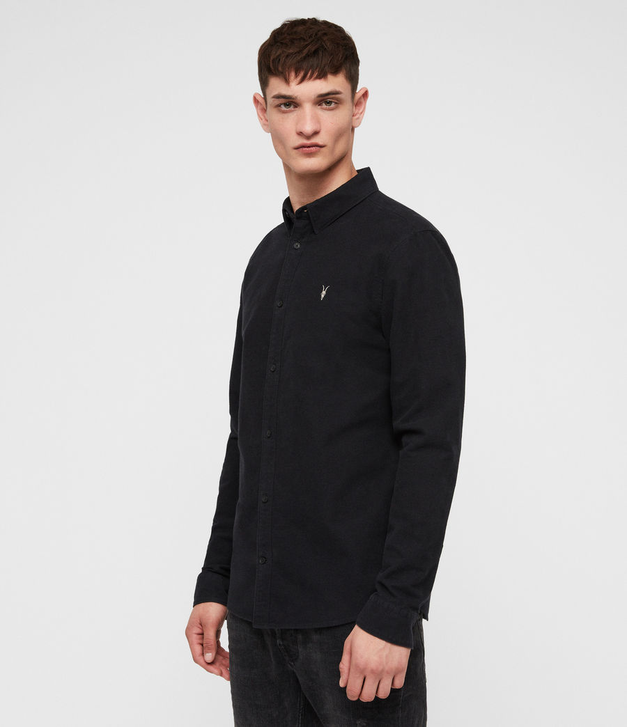 Mens Trenton Shirt (jet_black) - Image 1
