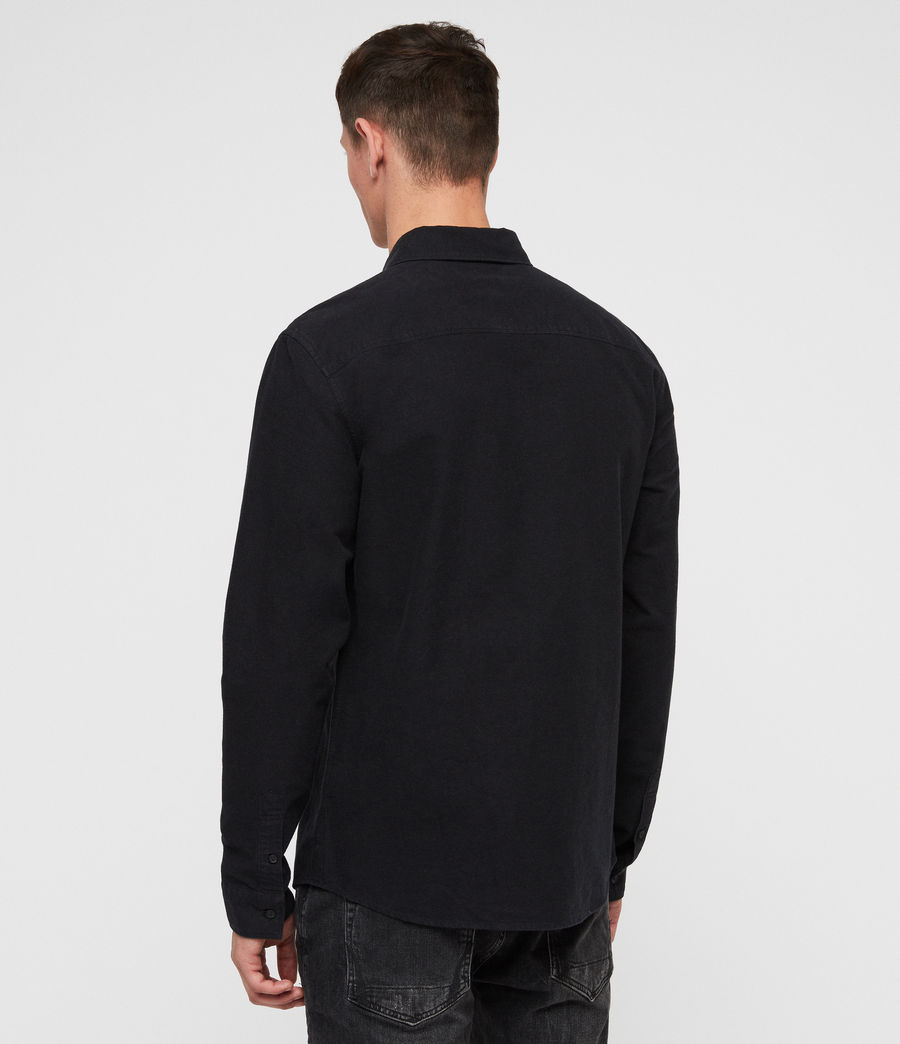 Mens Trenton Shirt (jet_black) - Image 2