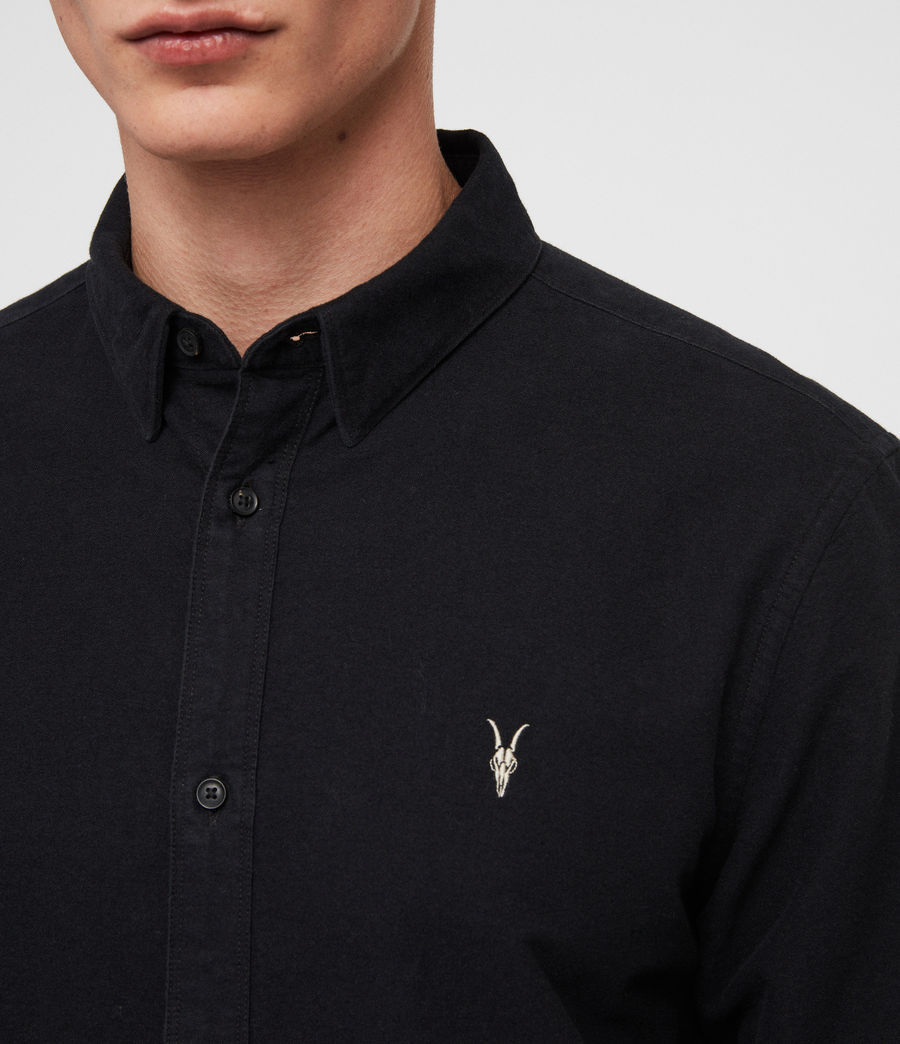 Men's Trenton Shirt (jet_black) - Image 3