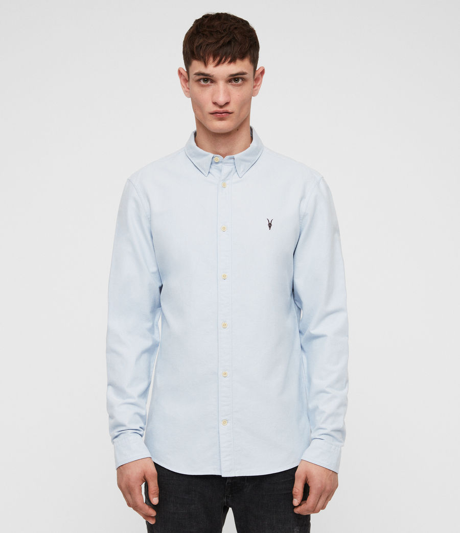 Mens Trenton Shirt (light_blue) - Image 1