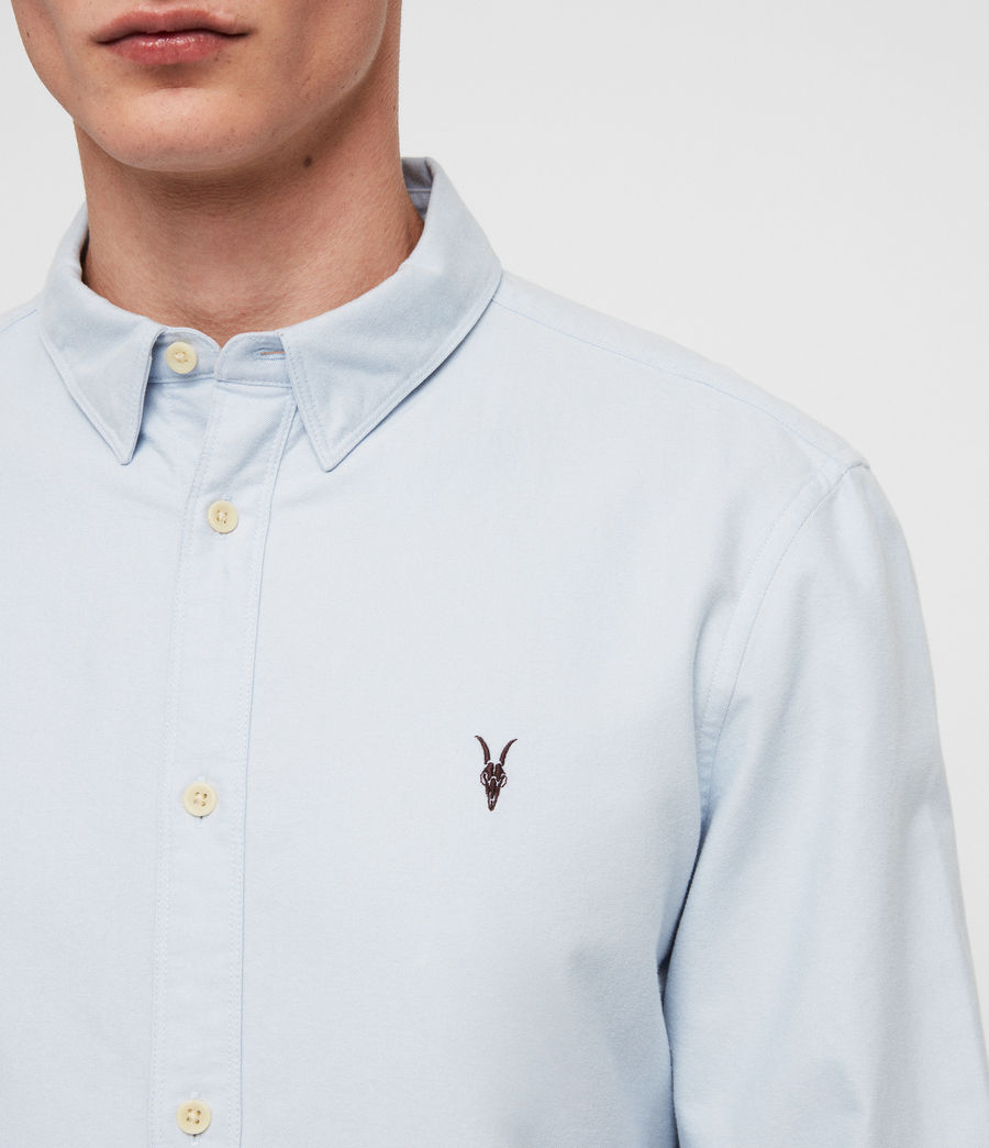 Mens Trenton Shirt (light_blue) - Image 2