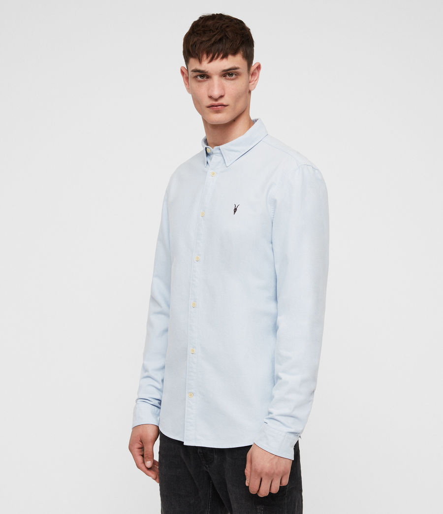 Mens Trenton Shirt (light_blue) - Image 3