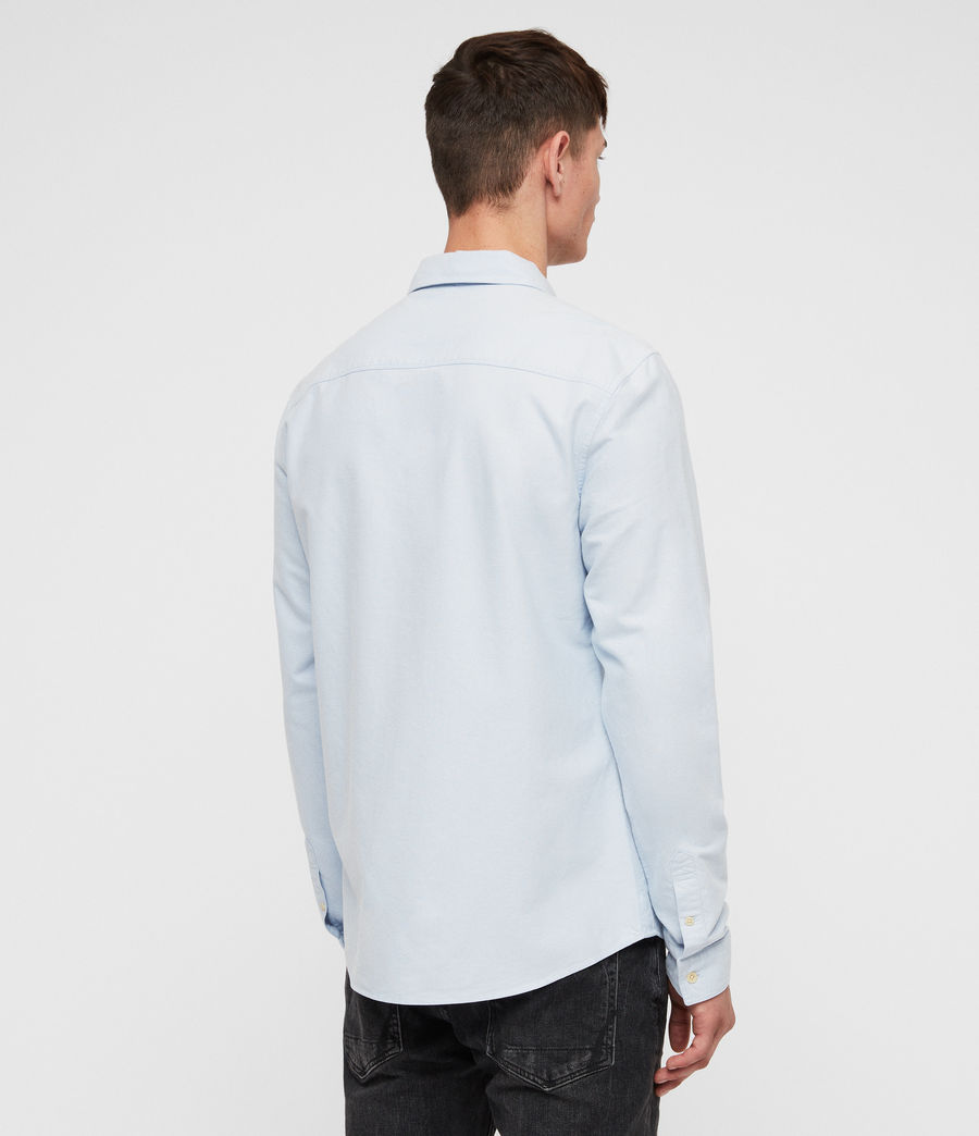 Mens Trenton Shirt (light_blue) - Image 4