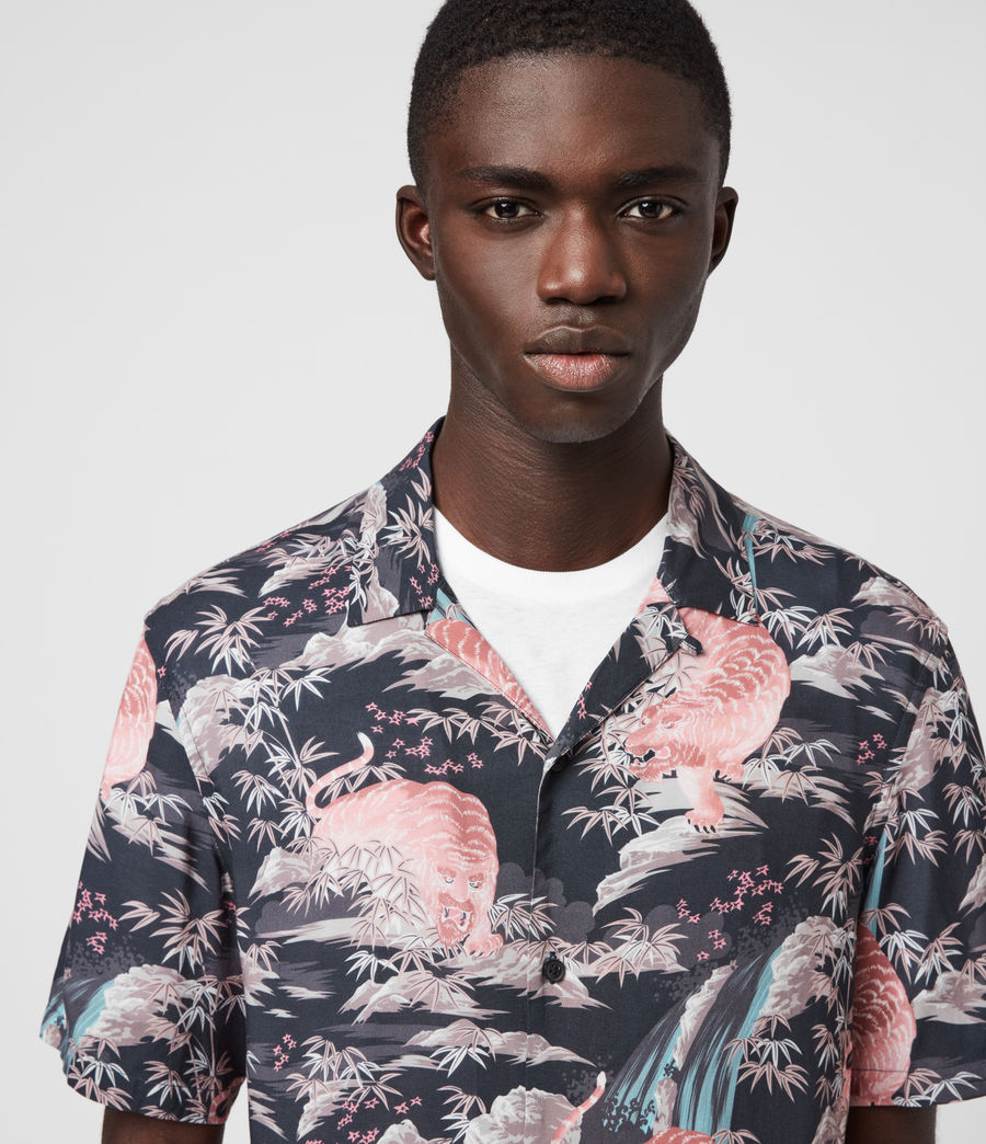 Hombre Medan Shirt (jet_black) - Image 2