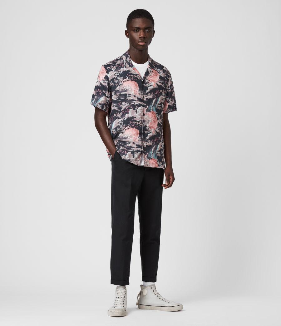 Hombre Medan Shirt (jet_black) - Image 3