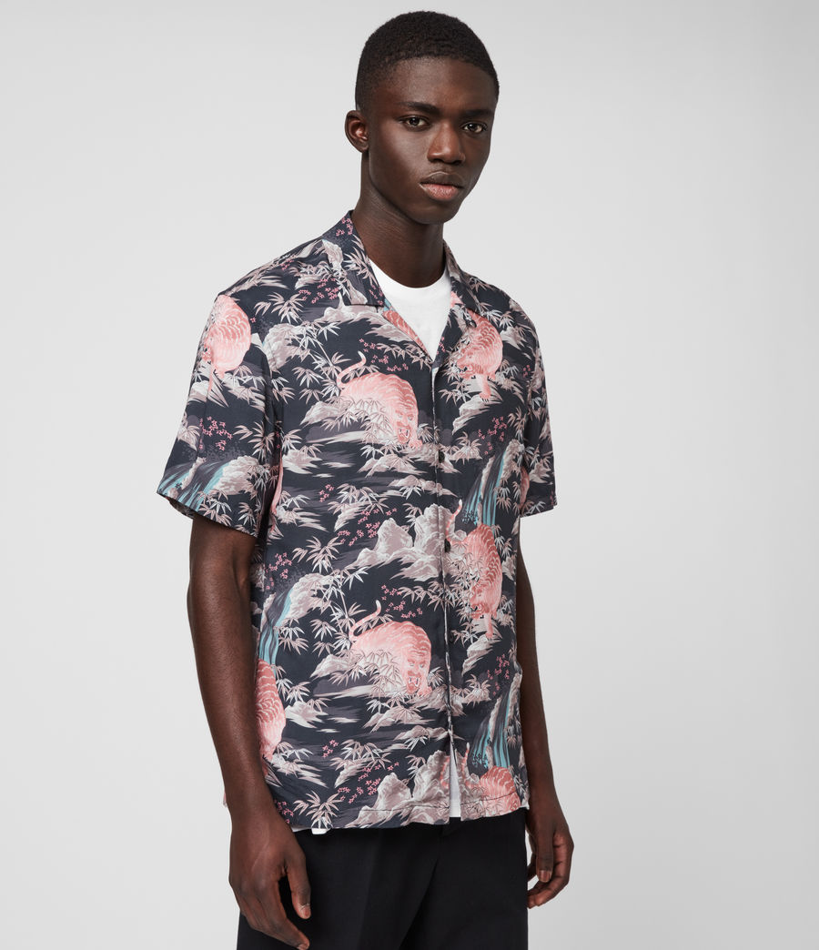 Hombre Medan Shirt (jet_black) - Image 4