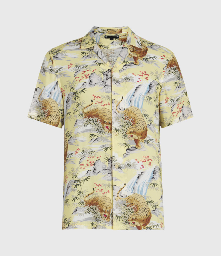 Men's Medan Shirt (yellow) - Image 1