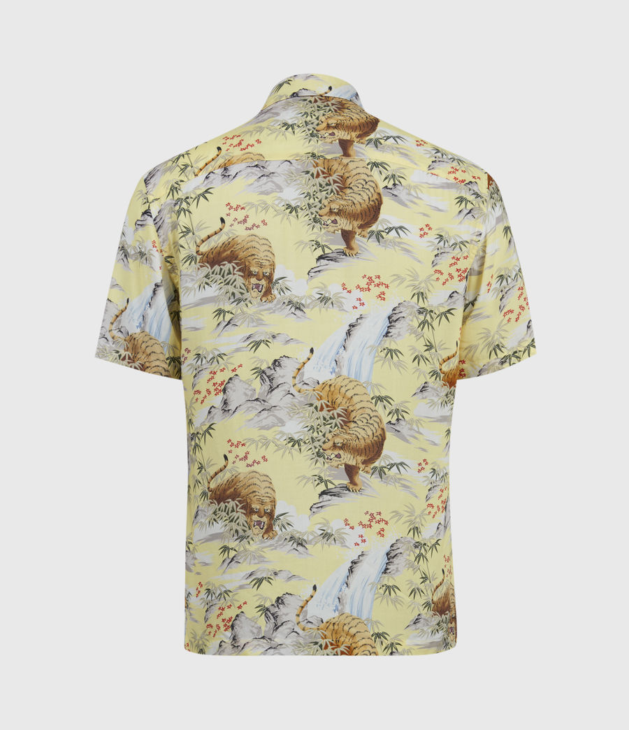 Men's Medan Shirt (yellow) - Image 2
