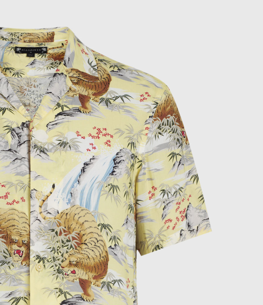 Men's Medan Shirt (yellow) - Image 3