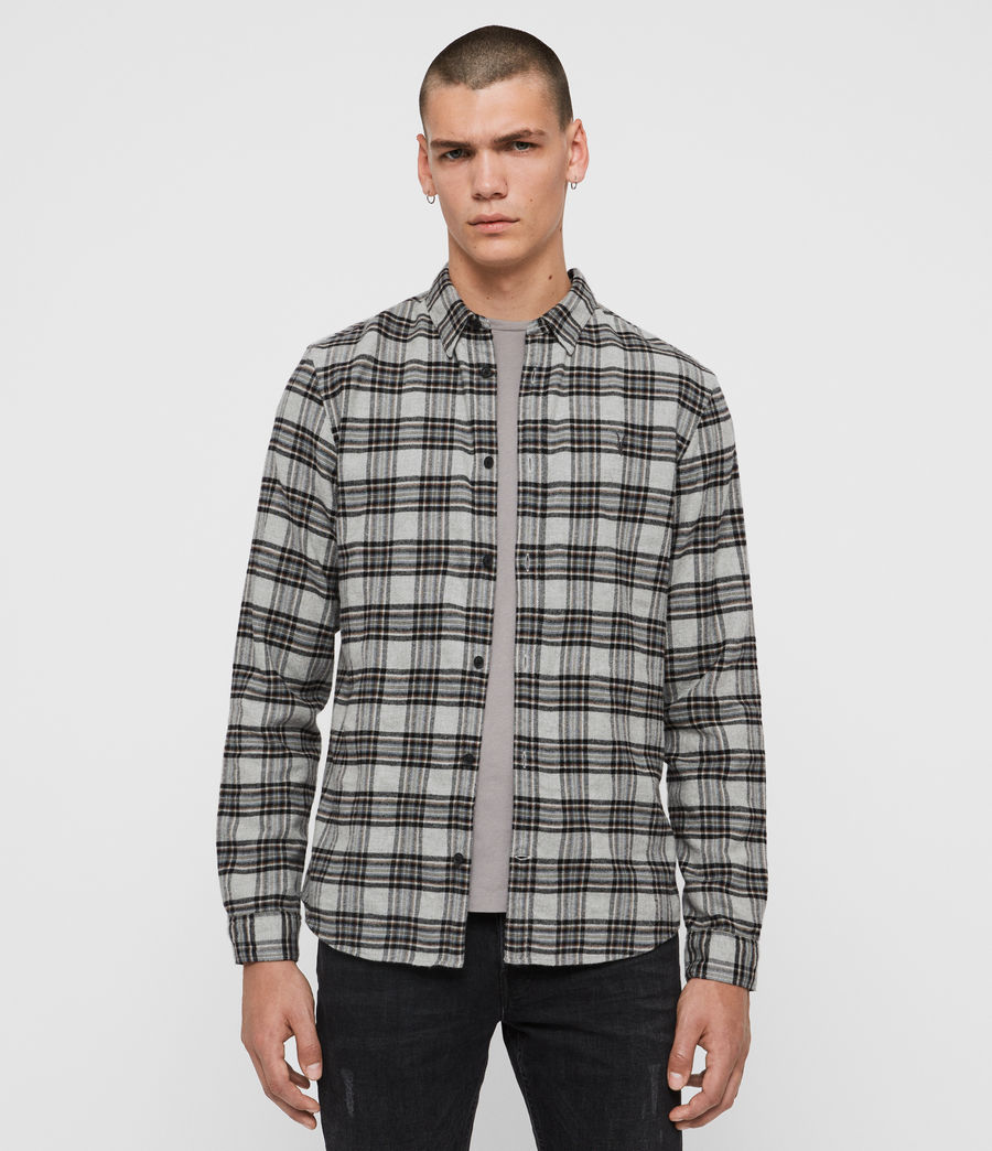 Mens Gaines Shirt (grey_marl) - Image 1