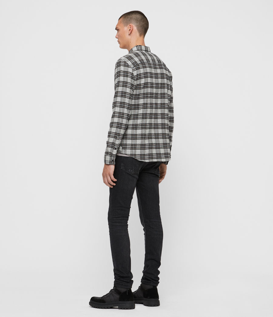 Mens Gaines Shirt (charcoal) - Image 5