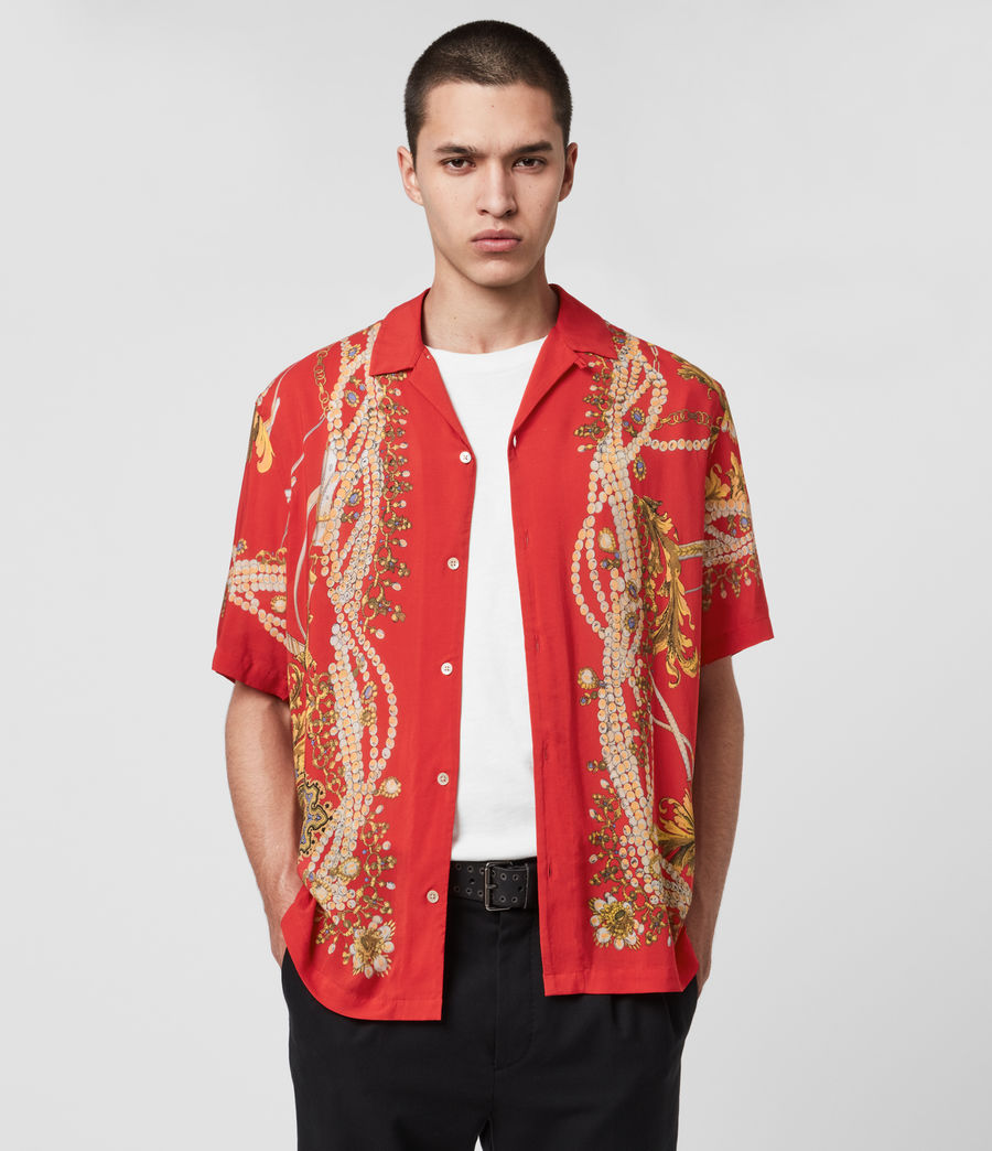 Men's Rubens Shirt (red) - Image 1