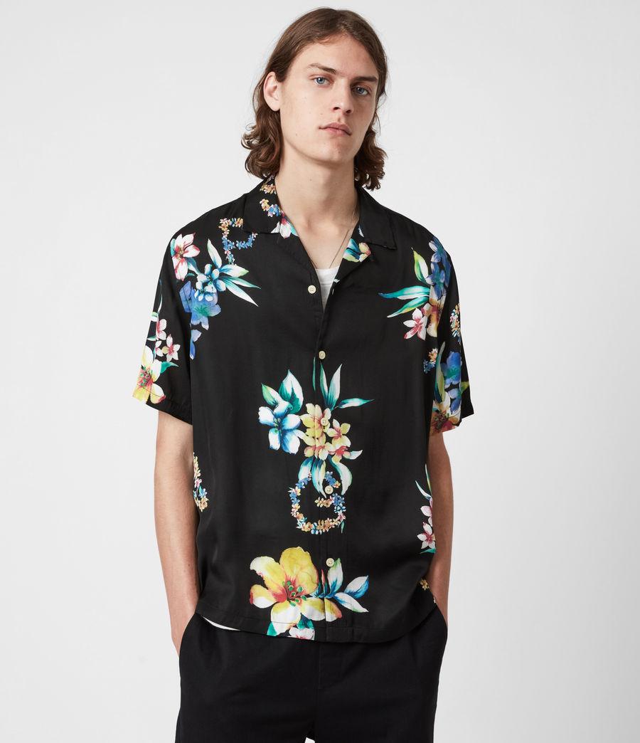 Men's Hana Shirt (jet_black) - Image 1