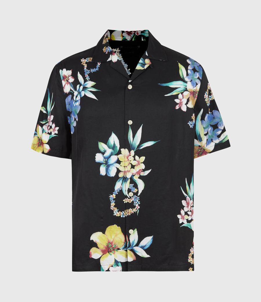 Men's Hana Shirt (jet_black) - Image 2